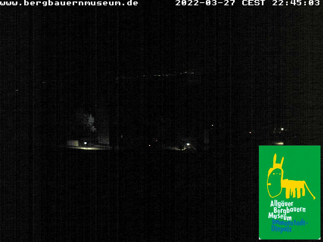 Webcam Bergbauernmuseum - Höfle Alpe